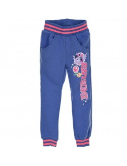 Pantaloni sport My Little Pony, bleu, 3-8 ani