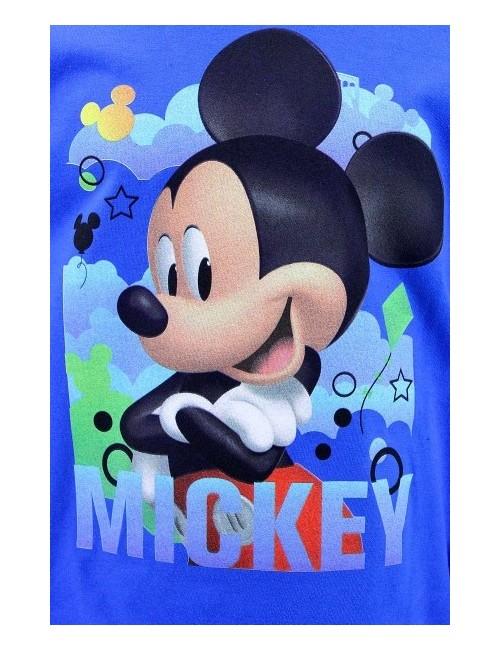 Pijama Mikey Mouse, albastra, copii 2-6 ani
