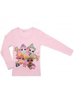 Bluza LOL Surprise, roz, fete 6-12 ani