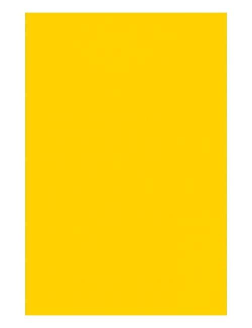 Fata de masa PVC, galbena, 137 x 274 cm