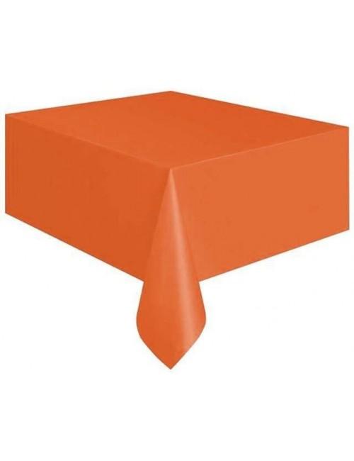 Fata de masa portocalie, 140 x 260 cm
