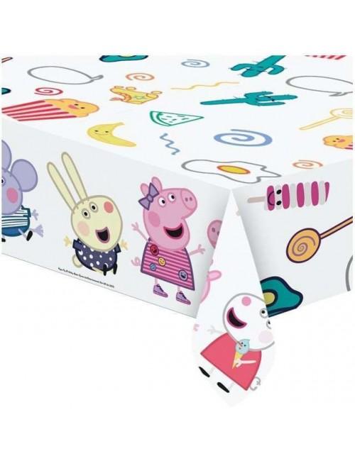 Fata de masa Peppa Pig, plastic, 120 x 180 cm