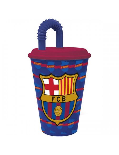 Pahar cu pai, FC Barcelona, 430 ml