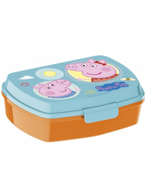 Cutie pranz Peppa Pig & George, 16x11x6 cm