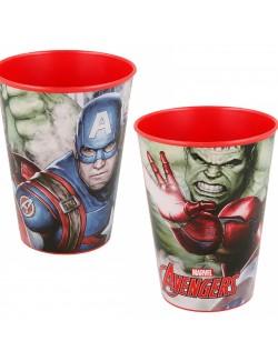Pahar plastic Avengers, 260 ml