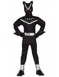 Costum Pantera neagra, copii 5-12 ani