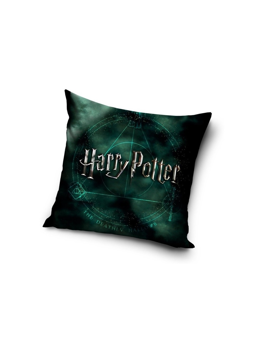 Perna Harry Potter, verde, 40 x 40 cm