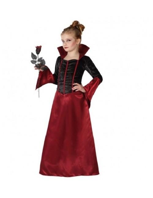 Costum Regina Vampirilor, copii 3-12 ani