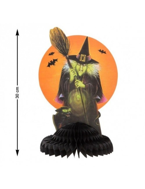 Decoratiune Halloween, Vrajitoare, 30 cm