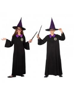 Costum Magician / Vrajitor, unisex, copii 5-12 ani