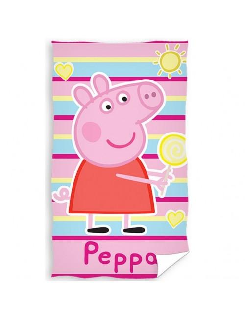 Prosop de fata Peppa Pig, roz,  30 x 50 cm