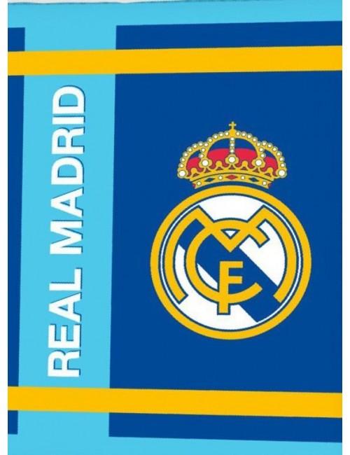 Patura Real Madrid, coral fleece extra soft, 130x160 cm