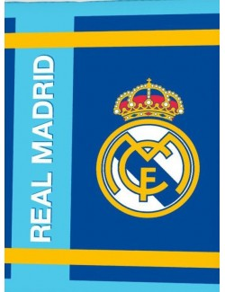 Patura Real Madrid, coral fleece extra soft, 130x160 cm