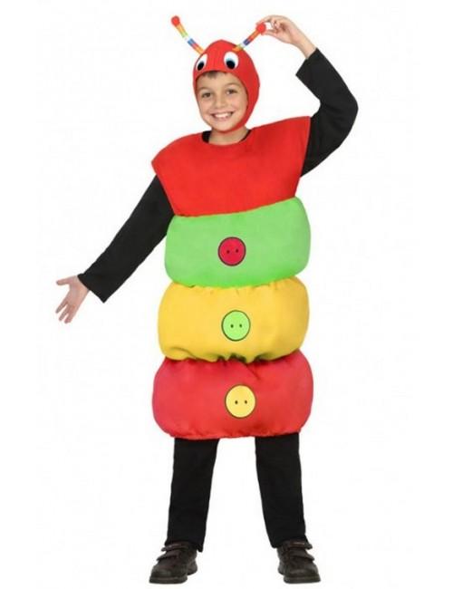 Costum Omida multicolora, copii 3-5 ani