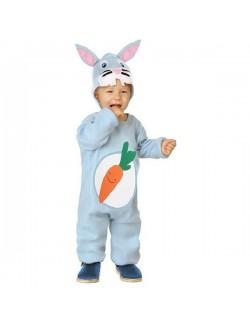 Costum Iepuras bleu, copii 2-3 ani