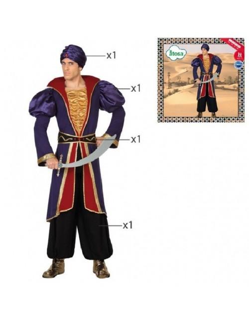 Costum Print Arab adulti, M-XL
