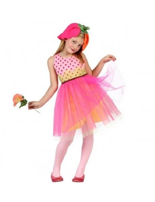 Costum Floare, copii 5-9 ani