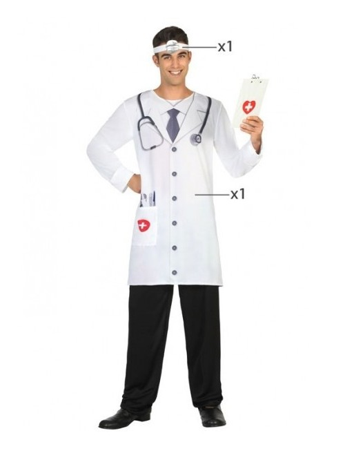 Costum Doctor, adulti, M-XL