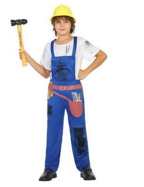Costum Constructor / Mecanic, copii 3-4 ani