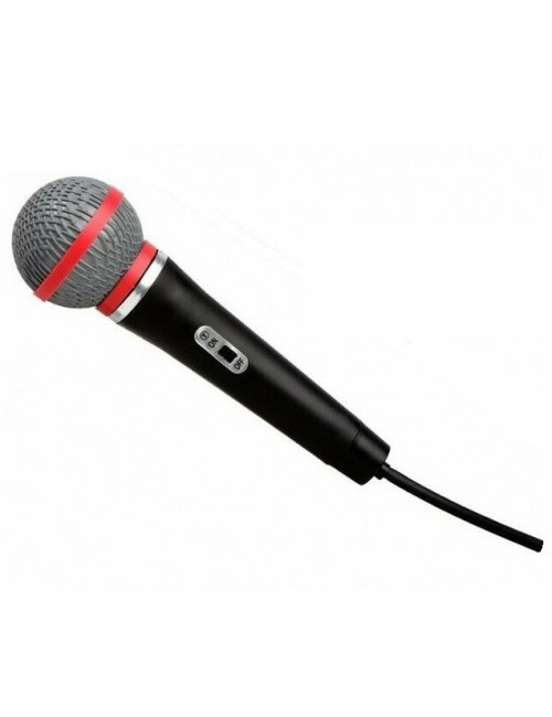 Microfon fara fir, 26 cm, pentru copii