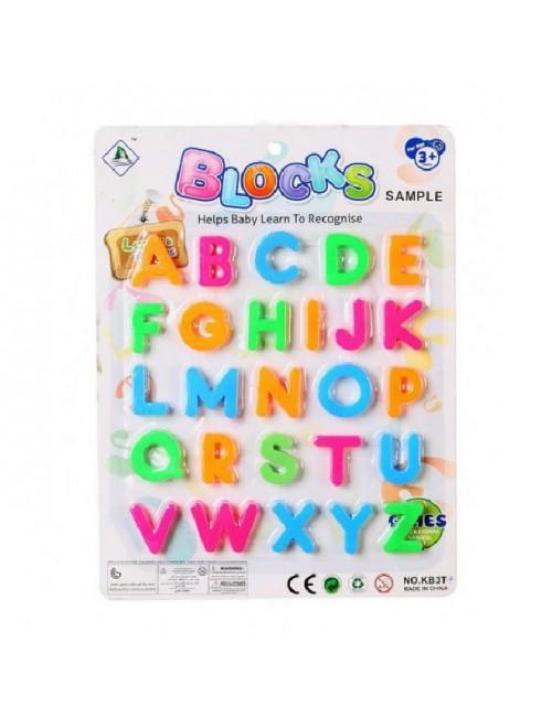 Set 26 litere magnetice pentru copii