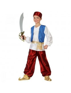 Costum Aladin / Print arab, copii 3-9 ani