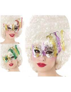 Masca Fantezie, stil venetian, diverse culori