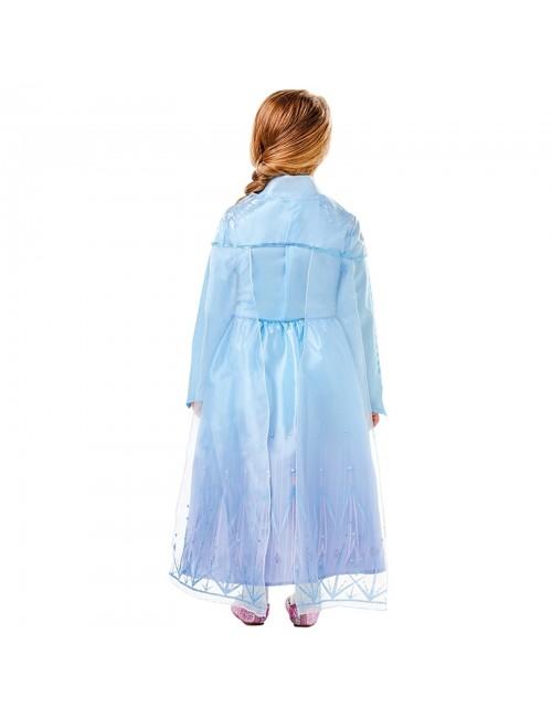 Costum Elsa Frozen 2, Deluxe, 5-8 ani