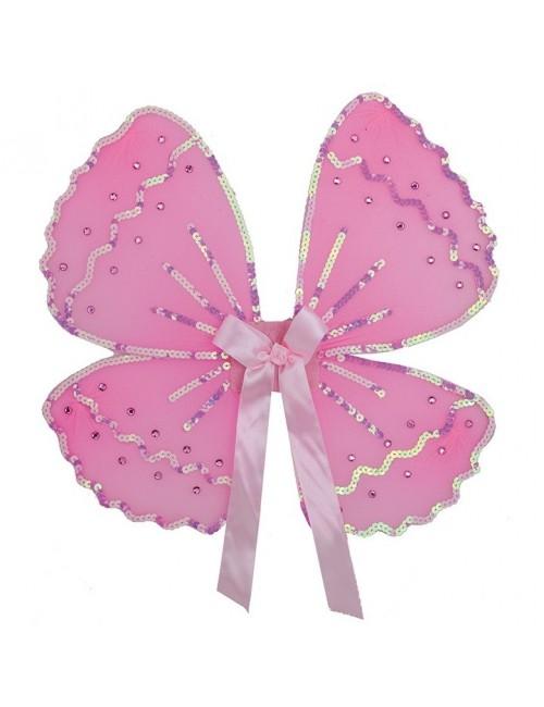 Aripi roz, cu paiete, 31*36 cm