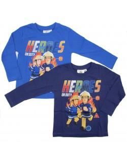 Bluza Pompierul Sam, copii 3 - 8 ani