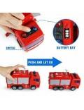Camion de Pompieri, cu accesorii, lumini si sunete