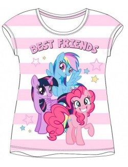 Tricou My Little Pony, dungi roz, fete 3-8 ani