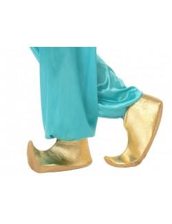 Conduri arabesti, aurii, acoperitoare incaltaminte, 25 cm