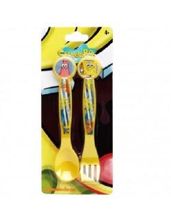 Set 2 tacamuri plastic, Sponge Bob