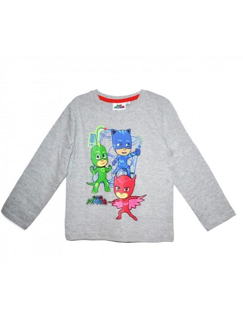 Bluza Eroi in pijamale, copii 3-8 ani, gri