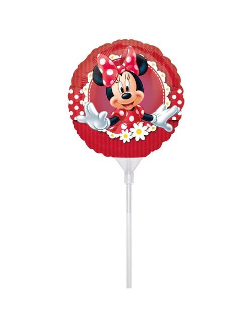 Balon folie Minnie Mouse rotund, 23 cm
