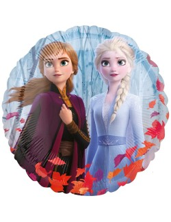 Balon folie Frozen 2, Elsa si Anna, 43 cm