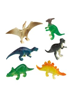 Set 8 Mini-Figurine Dinozauri