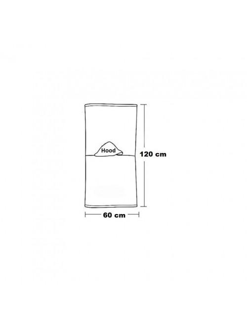 Prosop poncho Minnie Mouse, 60 X 120 cm