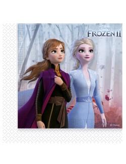 Set 20 servetele masa, Frozen II, 33 x 33 cm