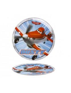Farfurie plastic Disney Planes - Avioane, 20 cm