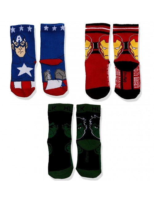 Set sosete Super-eroi Avengers, 3 perechi, 23-34