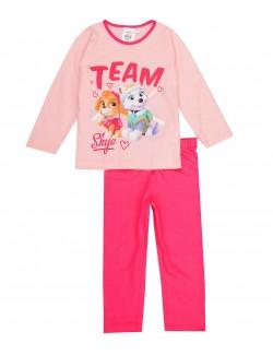 Pijama fete Patrula catelusilor, roz, 3-6 ani