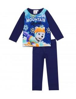 Pijama Paw patrol Mountain, indigo, copii 3-6 ani