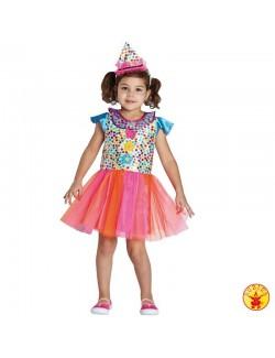 Costum fete Rochie Clown Rubies