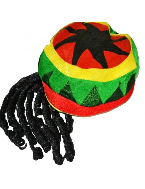 Bereta jamaicana / Rasta cu 8 codite