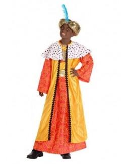 Costum Rege Mag, galben, copii 5-9 ani