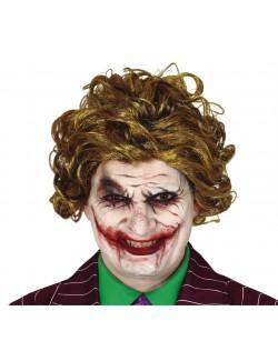 Peruca Joker Killer Clown adulti