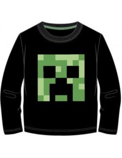 Bluza Minecraft Creeper, copii 6-12 ani