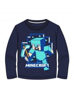 Bluza Minecraft Steve, copii 6-12 ani